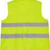 Basic safety jacket for extra visibility image