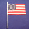 Custom printed hand held flag 10x15cm image