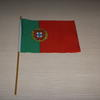 Custom printed hand held flag 20x30cm  image