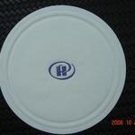 Custom printed / debossed paper coaster 85mm image
