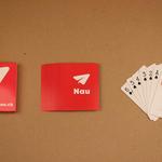 Poker size custom printed playing cards image