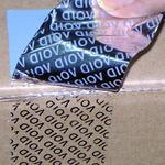 Custom printed anti-tampering tape 50mm x 50m image